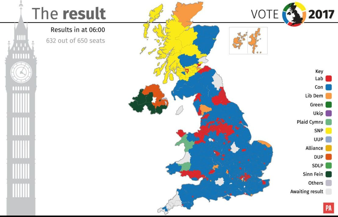 The 2017 General Election Results